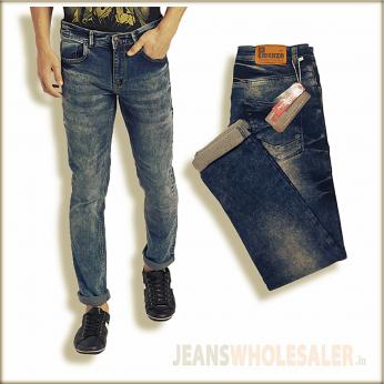 Men Blue Regular Fit Jeans EA104