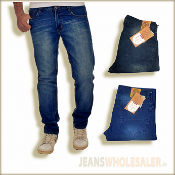 Men's Regular Fit Denim Jeans ZEE100