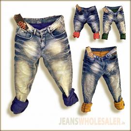 Men Narrow Fit Jeans GTU0089