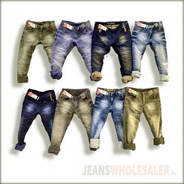 Men Funky Colour Jeans