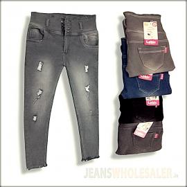 Women Repeat Skinny Jeans LB0035
