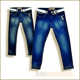 Lukkari Blue Denim Jeans For Men's