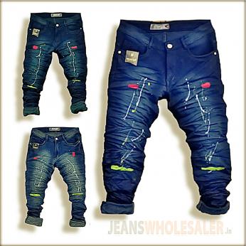 Men's Designer Ripped Jeans