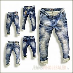 Men Cross pockets Denim Jeans GTU0095