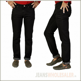 Denim Vistara - Men Cotton Black jeans