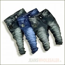 Ripped Denim Jeans For Men's