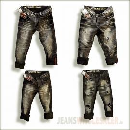 Men Damage jeans 4 Design 1 Colour GTU0105