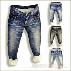 Regular Denim Jeans For Men GTU0110