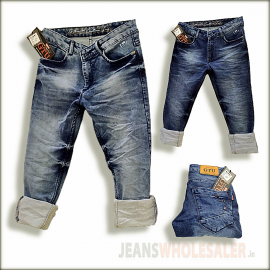 GTU Men Narrow Fit Jeans Jeans Wholesale GTU0112