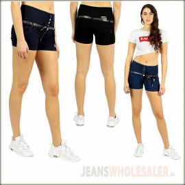 Wholesale Women High Waist Shorts BD3743