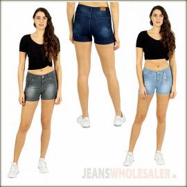 Women Latest Design Denim Shorts