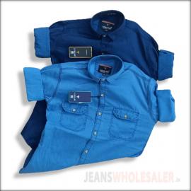 Lukkari Men Denim 2 pockets Shirts