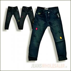 Men Patch Repair Jeans