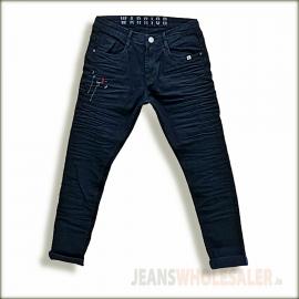 Men's Regular Black Jeans WJ1334