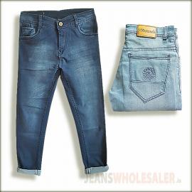 Denim Vistara Men Blue Regular Fit Jeans