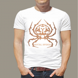 Royal Spider T-Shirt For Men's