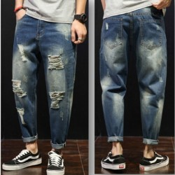 Royal Spider Torn Jeans For Men's