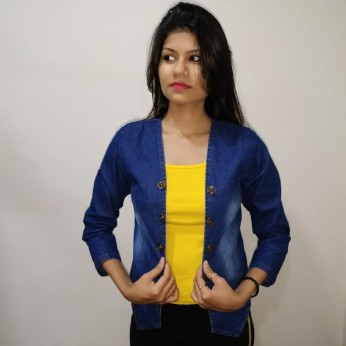 Denim Vistara Jackets For Women