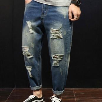 Royal Spider Torn Jeans For Men's