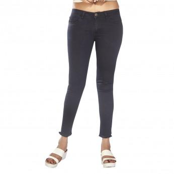 Denim Vistara Women's Slim Fit Black Colored Jeans