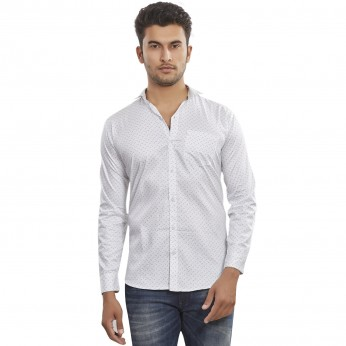 Roya Spider Cotton Printed shirts For Men