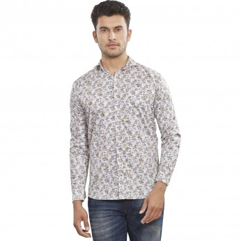 Roya Spider Cotton Printed Men'sShirts