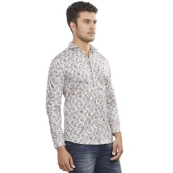 Royal Spider Cotton Printed Men's Shirts