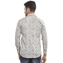 Roya Spider Men Cotton Printed Shirts