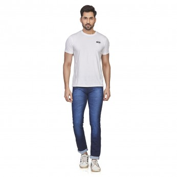 Denim Vistara Men's Casual and Classic D Blue Jeans