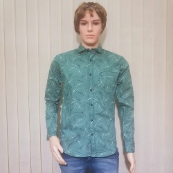 Full Sleeve Cotton Printed Shirts For Men