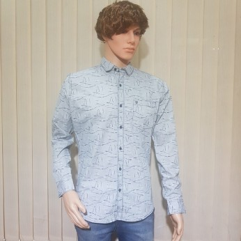 Full Sleeve Cotton Printed Shirts For Men's
