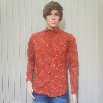 Men Red Colour Shirts